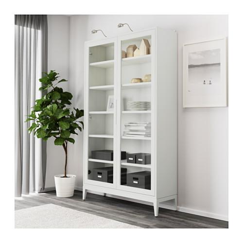 REGISSÖR - 玻璃門貯物櫃, 白色   IKEA 香港及澳門 - PE615644_S4