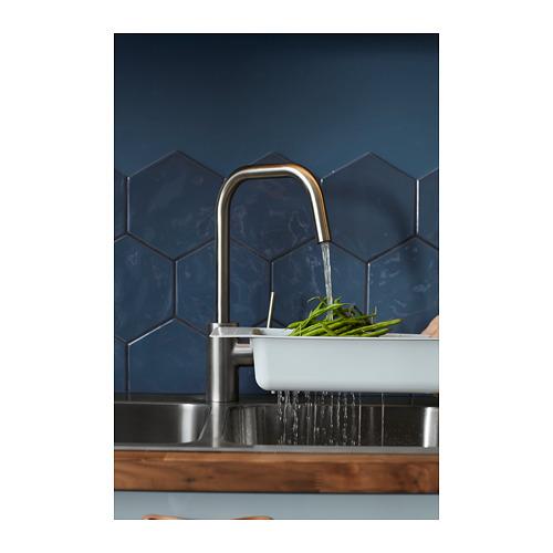 ÄLMAREN - 冷熱水龍頭, 不銹鋼色 | IKEA 香港及澳門 - PH152570_S4