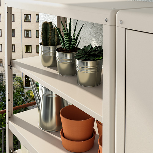 KOLBJÖRN - shelving unit with cabinet, beige | IKEA Hong Kong and Macau - PE718463_S4