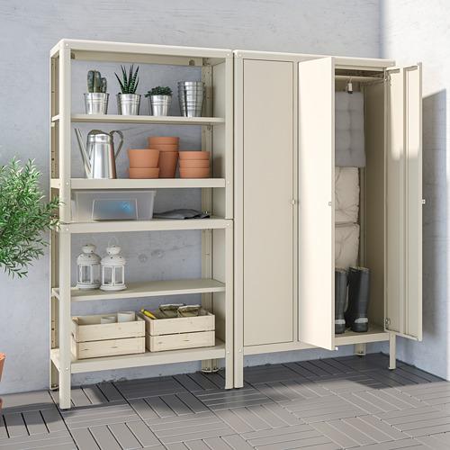 KOLBJÖRN - 層架組合連貯物櫃, 米黃色 | IKEA 香港及澳門 - PE718464_S4