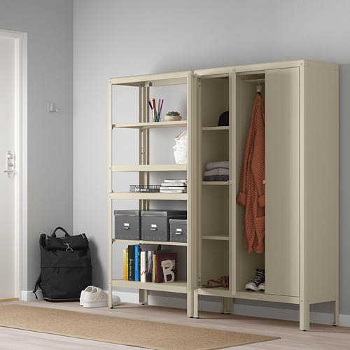 KOLBJÖRN - shelving unit with cabinet, beige | IKEA Hong Kong and Macau - PE718467_S4