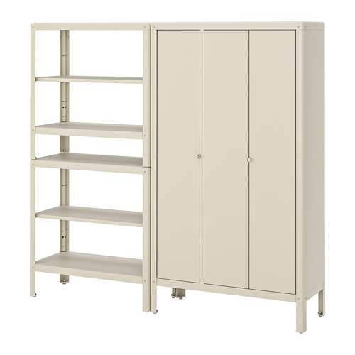 KOLBJÖRN - shelving unit with cabinet, beige | IKEA Hong Kong and Macau - PE718468_S4