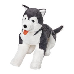 LIVLIG - 毛公仔, 狗/西伯利亞雪橇犬 | IKEA 香港及澳門 - PE553772_S3