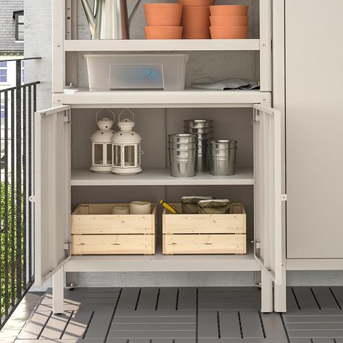 KOLBJÖRN - shelving unit with 2 cabinets, beige | IKEA Hong Kong and Macau - PE718474_S4