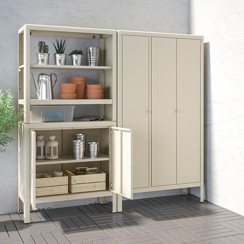 KOLBJÖRN - shelving unit with 2 cabinets, beige | IKEA Hong Kong and Macau - PE718475_S4