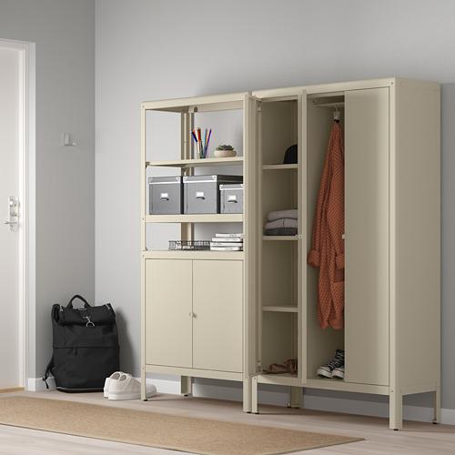 KOLBJÖRN - shelving unit with 2 cabinets, beige | IKEA Hong Kong and Macau - PE718460_S4