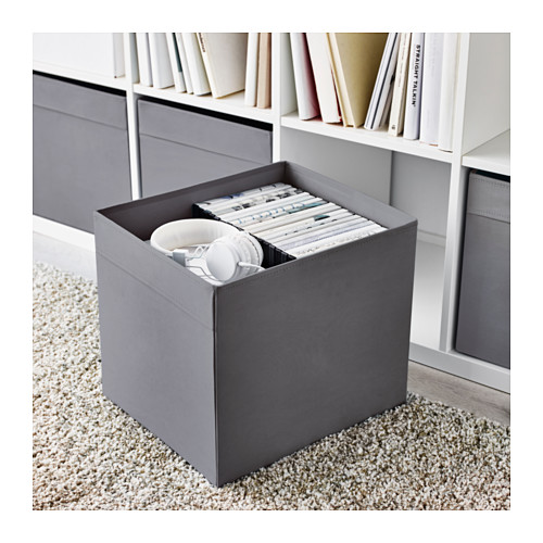 DRÖNA - box, dark grey | IKEA Hong Kong and Macau - PE615941_S4