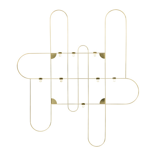 KORSMON - memo board with clips, 71x80 cm, gold-colour | IKEA Hong Kong and Macau - PE812940_S4
