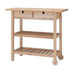FÖRHÖJA - 廚房活動几, 樺木 | IKEA 香港及澳門 - PE130363_S3