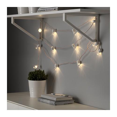 STRÅLA 12頭LED裝飾燈串