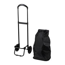 RADARBULLE - 活輪購物袋, 38L, 黑色 | IKEA 香港及澳門 - PE812954_S3