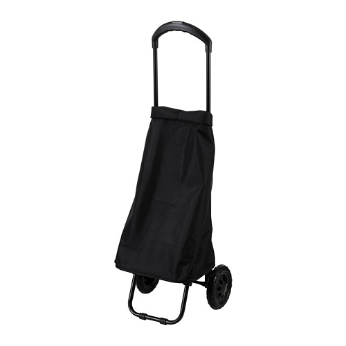 RADARBULLE - 活輪購物袋, 38L, 黑色 | IKEA 香港及澳門 - PE812955_S4