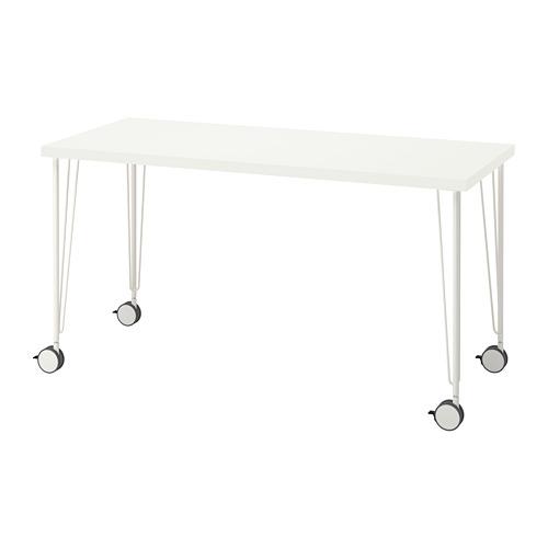 KRILLE/LAGKAPTEN - 書檯, 140x60cm, 白色   IKEA 香港及澳門 - PE812985_S4