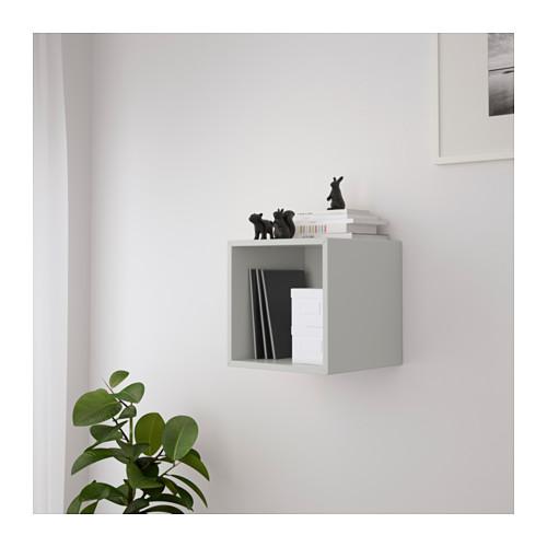 EKET - wall-mounted shelving unit, light grey | IKEA Hong Kong and Macau - PE616155_S4