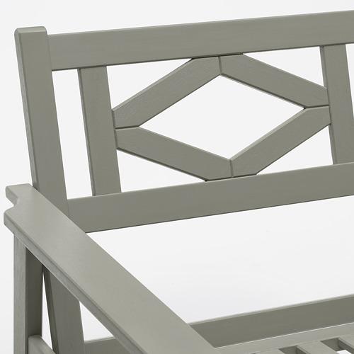 BONDHOLMEN - armchair, outdoor, grey stained | IKEA Hong Kong and Macau - PE757714_S4