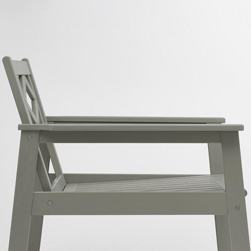 BONDHOLMEN - armchair, outdoor, grey stained | IKEA Hong Kong and Macau - PE757741_S4