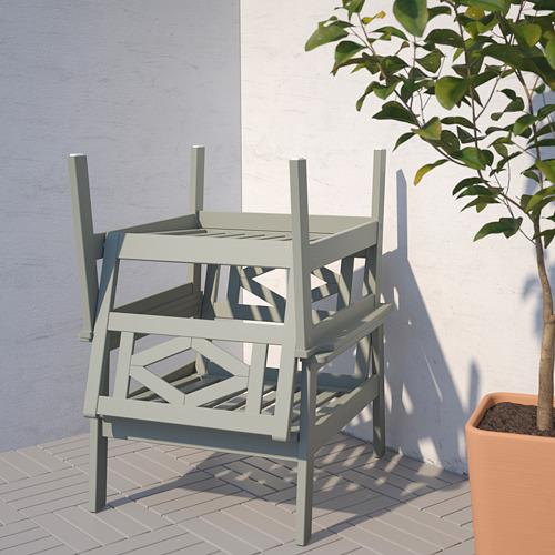 BONDHOLMEN - armchair, outdoor, grey stained | IKEA Hong Kong and Macau - PE757717_S4