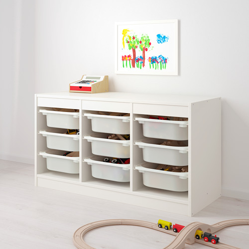 TROFAST - storage combination with boxes, white/pink   IKEA Hong Kong and Macau - PE649619_S4