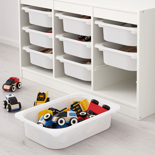 TROFAST - storage combination with boxes, white/pink   IKEA Hong Kong and Macau - PE649620_S4
