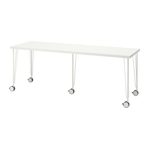 KRILLE/LAGKAPTEN - 書檯, 200x60cm, 白色   IKEA 香港及澳門 - PE813054_S4