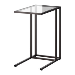 VITTSJÖ - laptop stand, black-brown/glass | IKEA Hong Kong and Macau - PE329143_S3