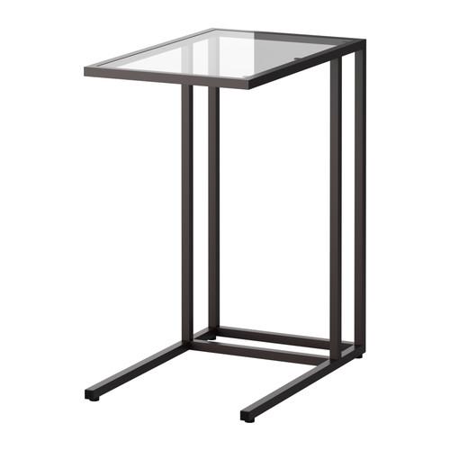 VITTSJÖ - 電腦檯, 棕黑色/玻璃 | IKEA 香港及澳門 - PE329143_S4