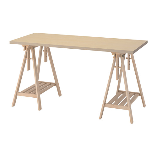 MITTBACK/MÅLSKYTT - desk, birch | IKEA Hong Kong and Macau - PE813109_S4