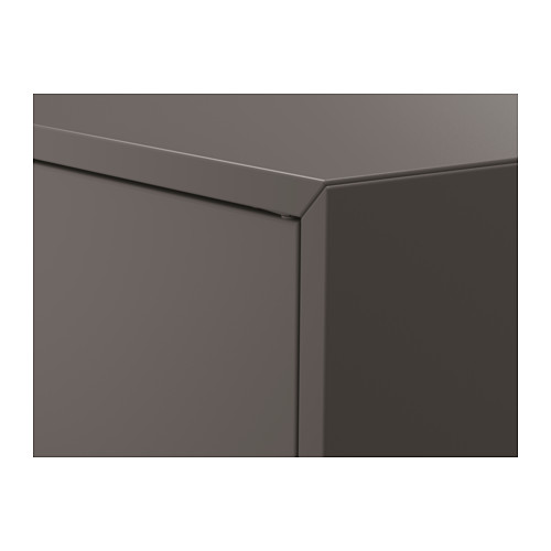 EKET - cabinet w 2 doors and 1 shelf, dark grey | IKEA Hong Kong and Macau - PE616236_S4