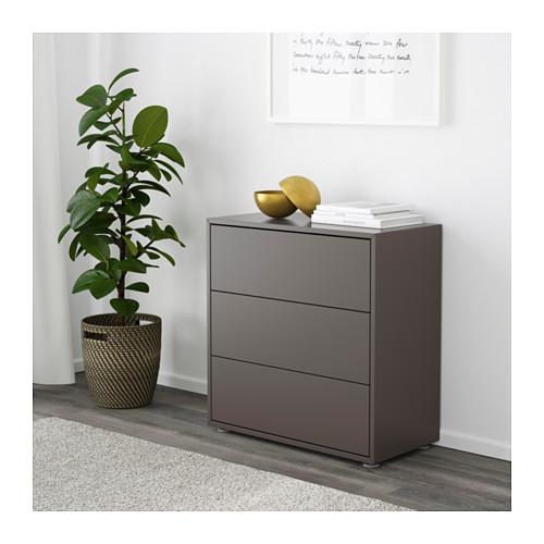 EKET - cabinet with 3 drawers, dark grey | IKEA Hong Kong and Macau - PE616258_S4