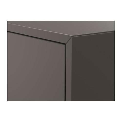 EKET - wall-mounted shelving unit, dark grey | IKEA Hong Kong and Macau - PE616282_S4