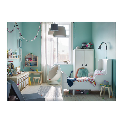 BUSUNGE - extendable bed, white   IKEA Hong Kong and Macau - PH153197_S4