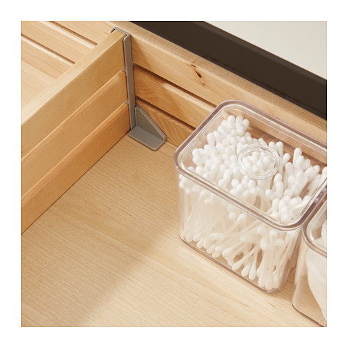 GODMORGON - wash-stand with 2 drawers, white stained oak effect | IKEA Hong Kong and Macau - PE414898_S4