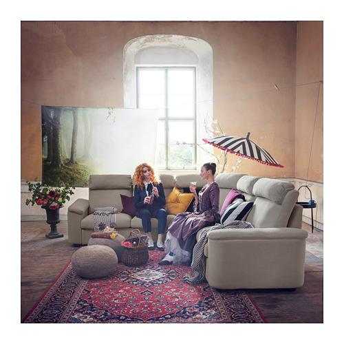 LIDHULT - corner sofa, 5-seat, Gassebol light beige | IKEA Hong Kong and Macau - PH154576_S4