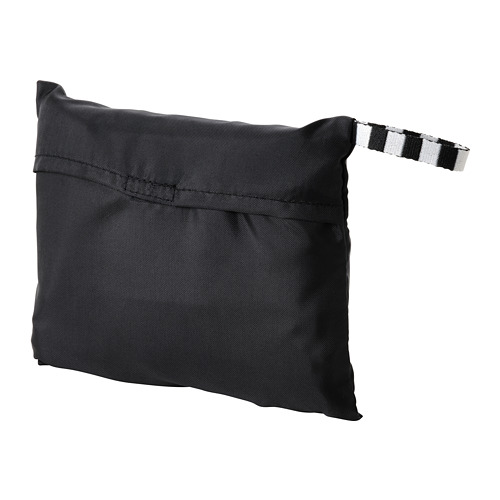 RÄCKLA - bag, foldable, 48x36 cm, black | IKEA Hong Kong and Macau - PE813206_S4