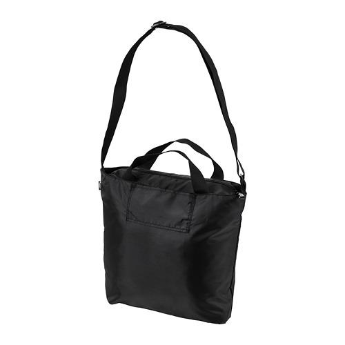 RÄCKLA - bag, foldable, 48x36 cm, black | IKEA Hong Kong and Macau - PE813205_S4