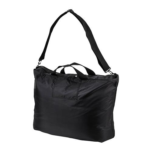 RÄCKLA - 可摺袋, 75x45 cm, 黑色 | IKEA 香港及澳門 - PE813208_S4