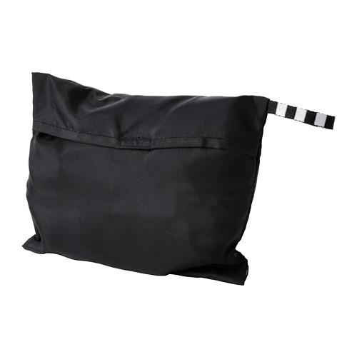 RÄCKLA - 可摺袋, 75x45 cm, 黑色 | IKEA 香港及澳門 - PE813207_S4