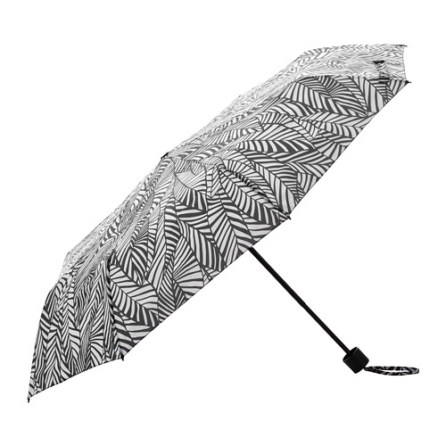 KNALLA - umbrella, foldable white/black   IKEA Hong Kong and Macau - PE813233_S4