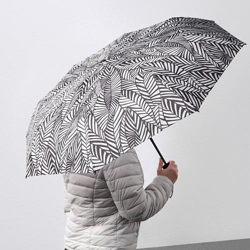 KNALLA - umbrella, foldable white/black   IKEA Hong Kong and Macau - PE813232_S4