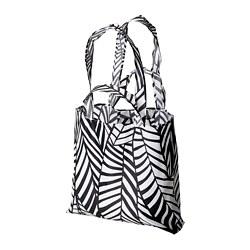 SKYNKE - 購物袋, 45x36 cm, 白色/黑色 | IKEA 香港及澳門 - PE813236_S3