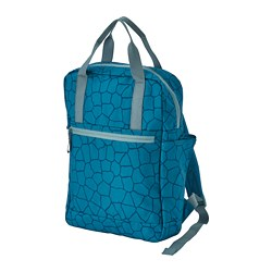 STARTTID - 背囊, 12 l, 圖案/藍色 | IKEA 香港及澳門 - PE813239_S3