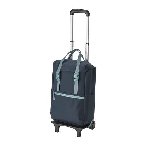 STARTTID - backpack on wheels, 19 l, blue | IKEA Hong Kong and Macau - PE813240_S4