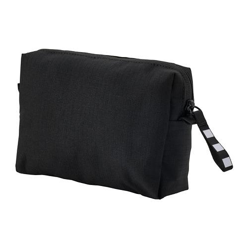 VÄRLDENS - accessory bag, 16x4x11 cmblack | IKEA Hong Kong and Macau - PE813242_S4