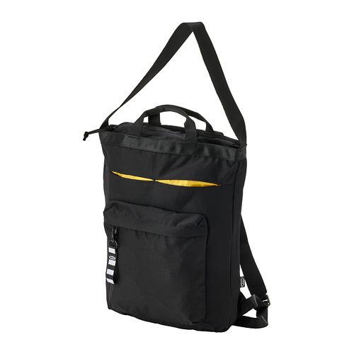 VÄRLDENS - travel tote bag, 16 l, black | IKEA Hong Kong and Macau - PE813251_S4