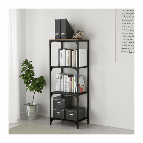 FJÄLLBO - shelving unit, black | IKEA Hong Kong and Macau - PE616392_S4