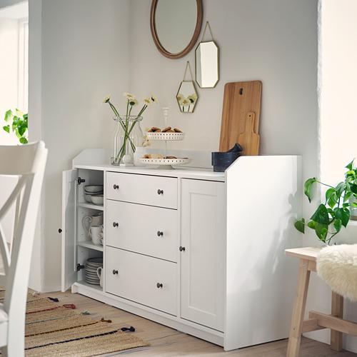 HAUGA - 餐具櫃, 白色   IKEA 香港及澳門 - PH172953_S4