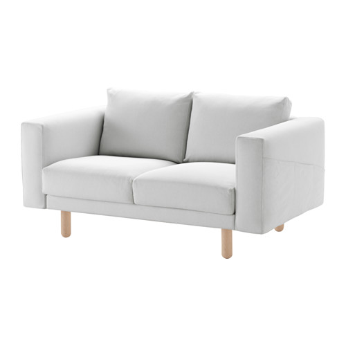 NORSBORG - cover for 2-seat sofa, Finnsta white | IKEA Hong Kong and Macau - PE556771_S4
