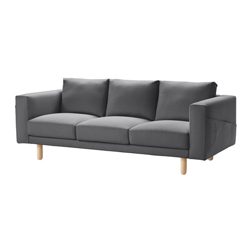 NORSBORG - cover for 3-seat sofa, Finnsta dark grey   IKEA Hong Kong and Macau - PE558936_S4