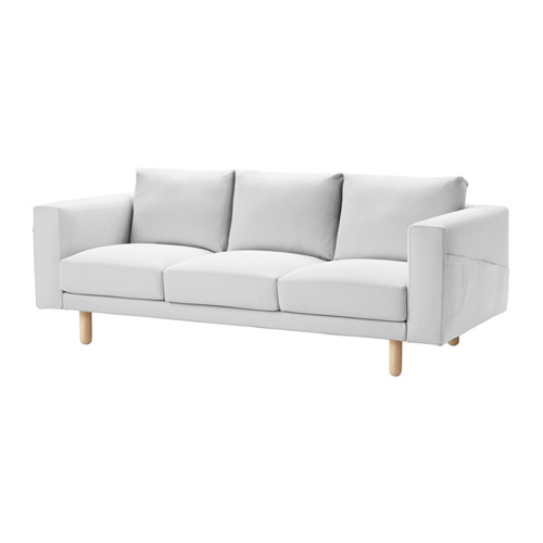 NORSBORG - cover for 3-seat sofa, Finnsta white | IKEA Hong Kong and Macau - PE558940_S4