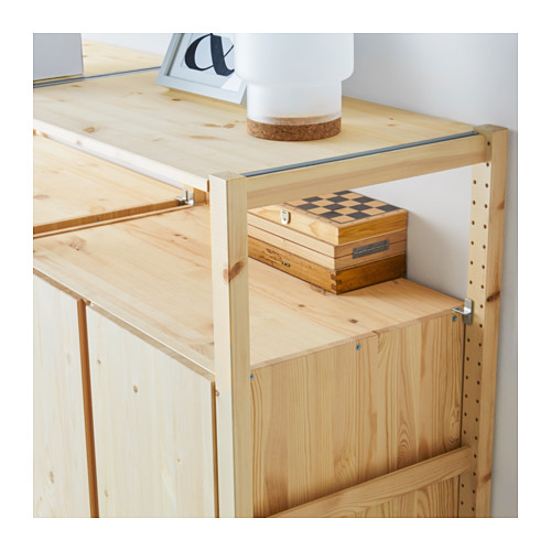 IVAR - 5 sections/shelves/cabinets, 389x50x226 cm, pine | IKEA Hong Kong and Macau - PE616467_S4